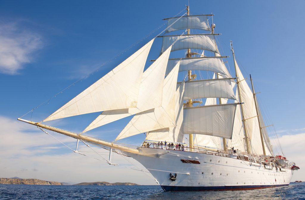 sailing with Royal Clippers